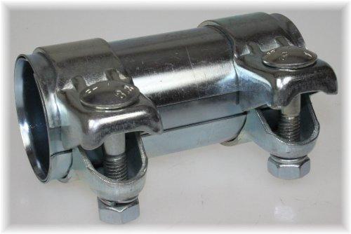 Lkw Universal Rohrbogen 45/° Grad /Ø 65 mm einseitig aufgeweitet Auspuffrohr Abgasrohr Rohr Abgasanlage Pkw